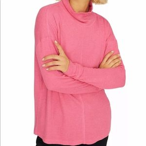 Sanctuary | Highroad Thermal Turtleneck | Pink